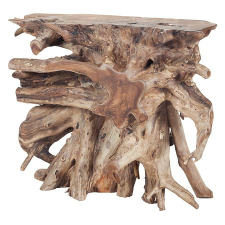 Dimond Home Teak Console Table - (Natural Console Table)