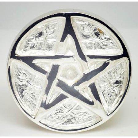 Fortune Telling Toys Supernatural Protection Supplies Pentacle Meditation Altar Tile 3