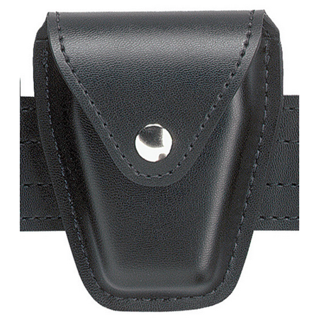Safariland 190H-9B Handcuff Pouch, Top Flap, for Standard Hinged Handcuffs, Hi Gloss Black - 190H-9B - Safariland