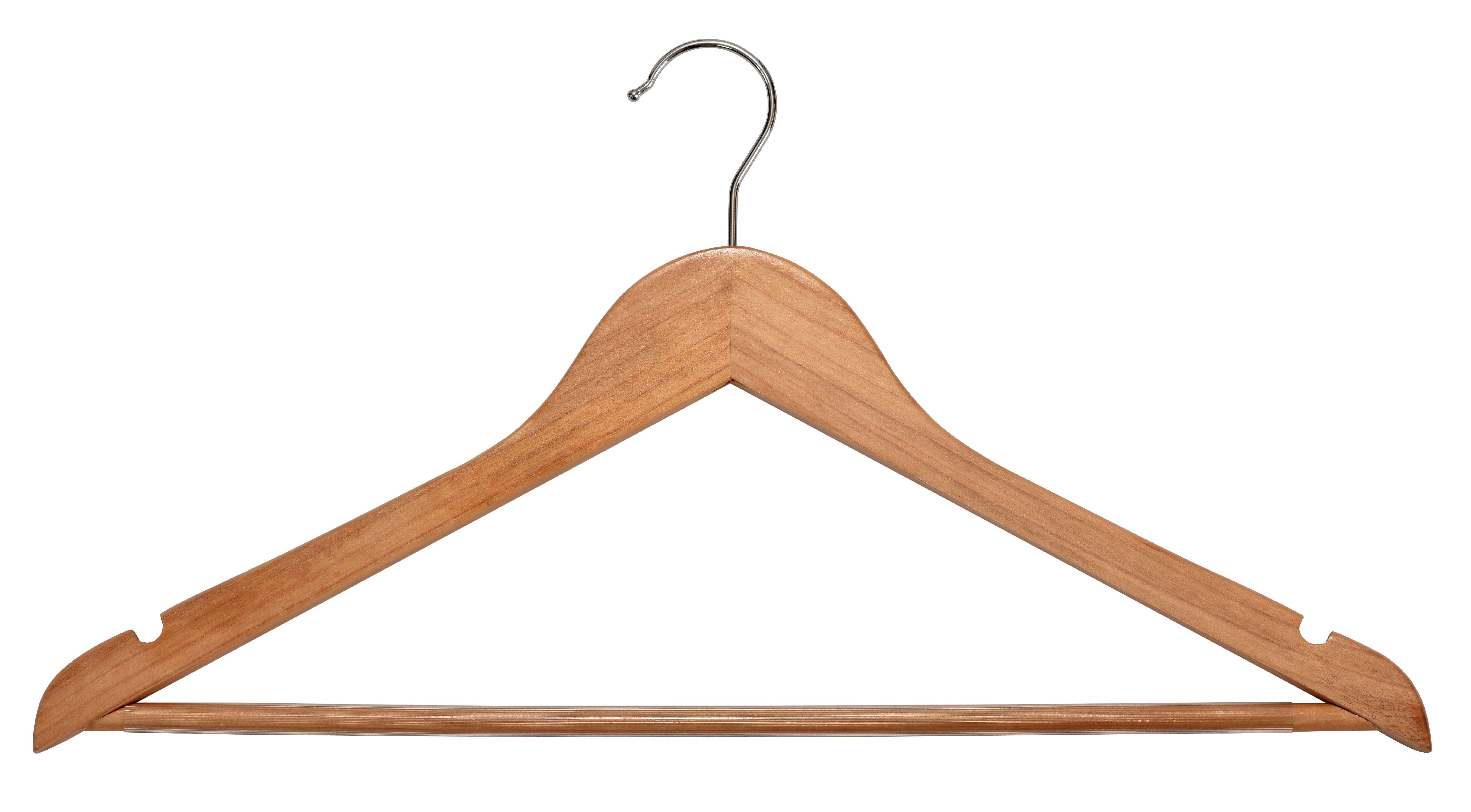 Wood Vintage Hanger 16 1//4-12 hanger set