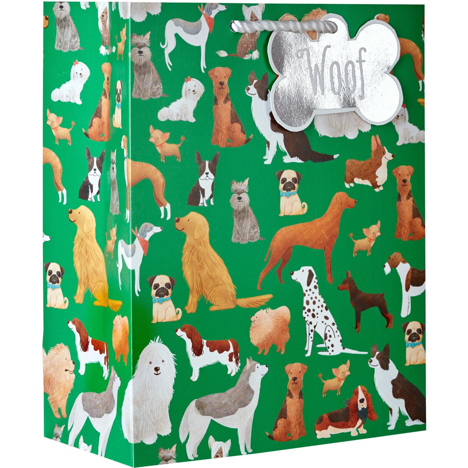 Jillson & Roberts Eco-Friendly Medium Gift Bags, Best in Show (12 Pcs)