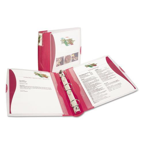 Avery Consumer Products Silhouette Poly View Binder with Inside Pocket, 1-1/2'' Capacity