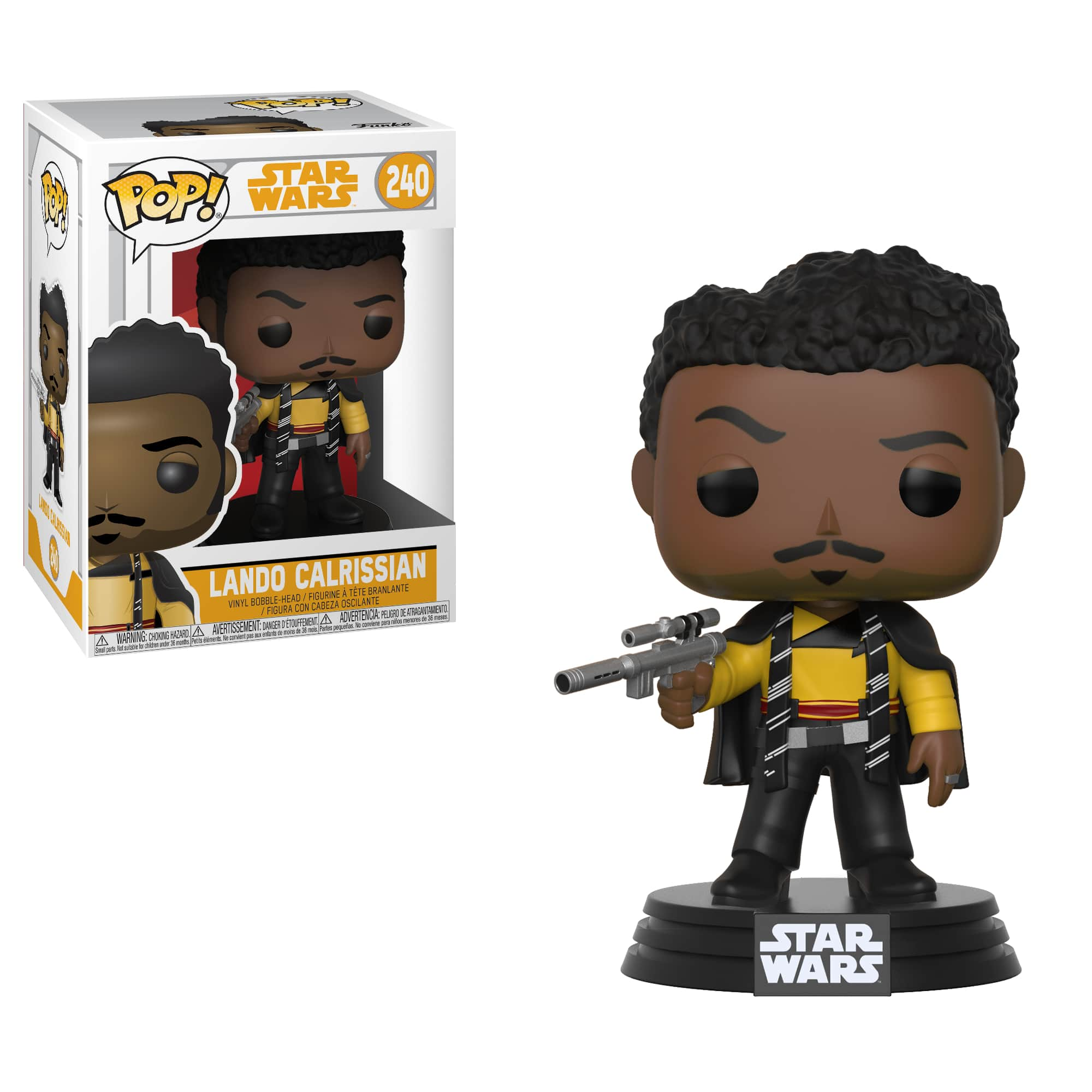 Funko Pop! Star Wars: Solo W1 - Lando Main Outfit