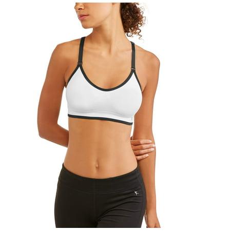 03e566b988 Danskin Now - Womens Keyhole Seamless Sports Bra - Walmart.com