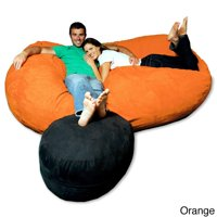 Theater Sacks LLC Soft Memory Foam Microsuede 7.5-foot Beanbag Chair Lounger