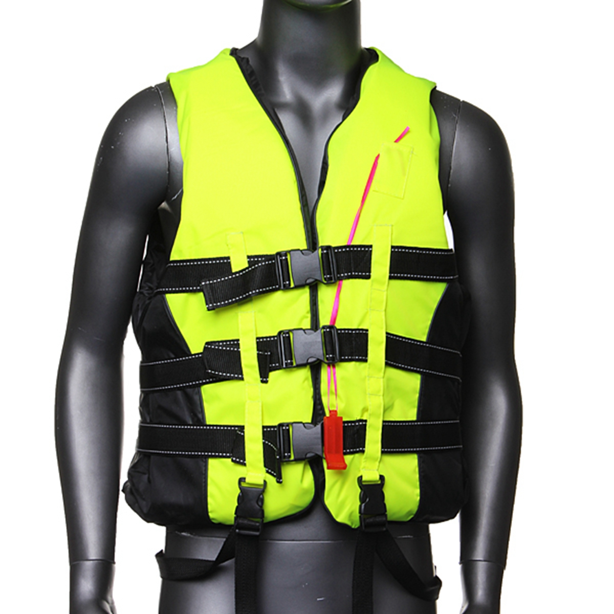 CAMTOA Traditional Life Vest Life Jacket Vest-PFD Fully Enclose Polyester Foam With Whistle For Adult Jet Skiing Boating... by