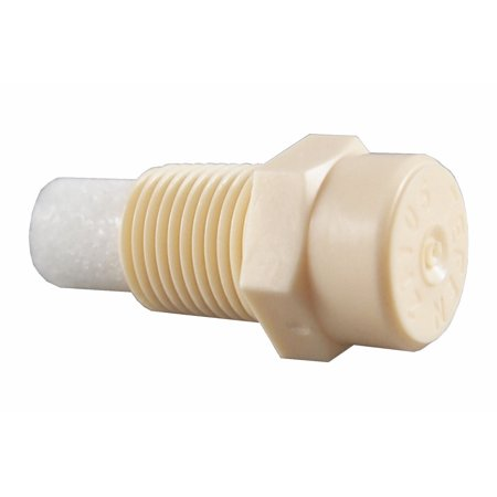 10 Pack) Plastic Fog Nozzle W/Poly Filter Misting Poultry - Cream 1/8