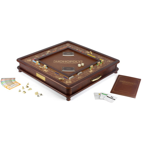 Winning Solutions Monopoly Game Luxury Edition
