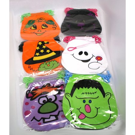 Drawstring Halloween Goody - Halloween Goodies To Eat