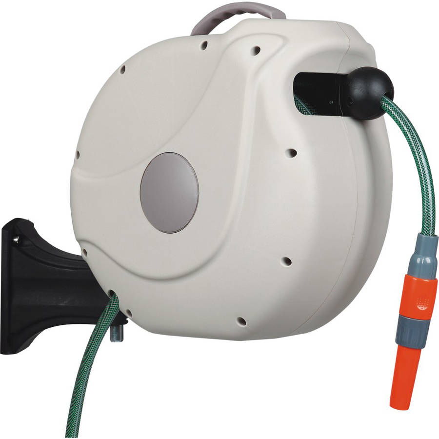 "Gartenkraft 5 8"" Nw Retractable Hose Reel with 20M 65' Hose by"