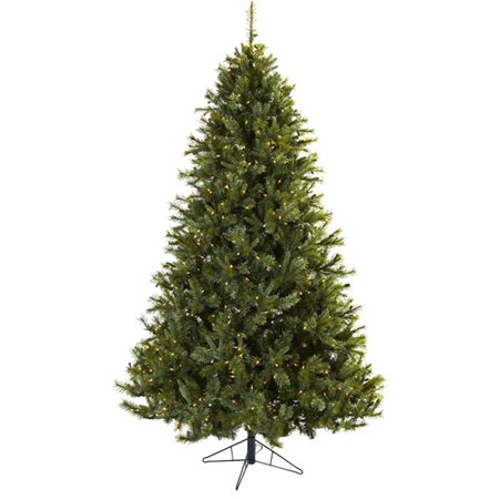 Nearly Natural 7.5Ft Majestic Multi-Pine Christmas Tree w/Clear Lights -  Walmart.com - Nearly Natural 7.5Ft Majestic Multi-Pine Christmas Tree W/Clear