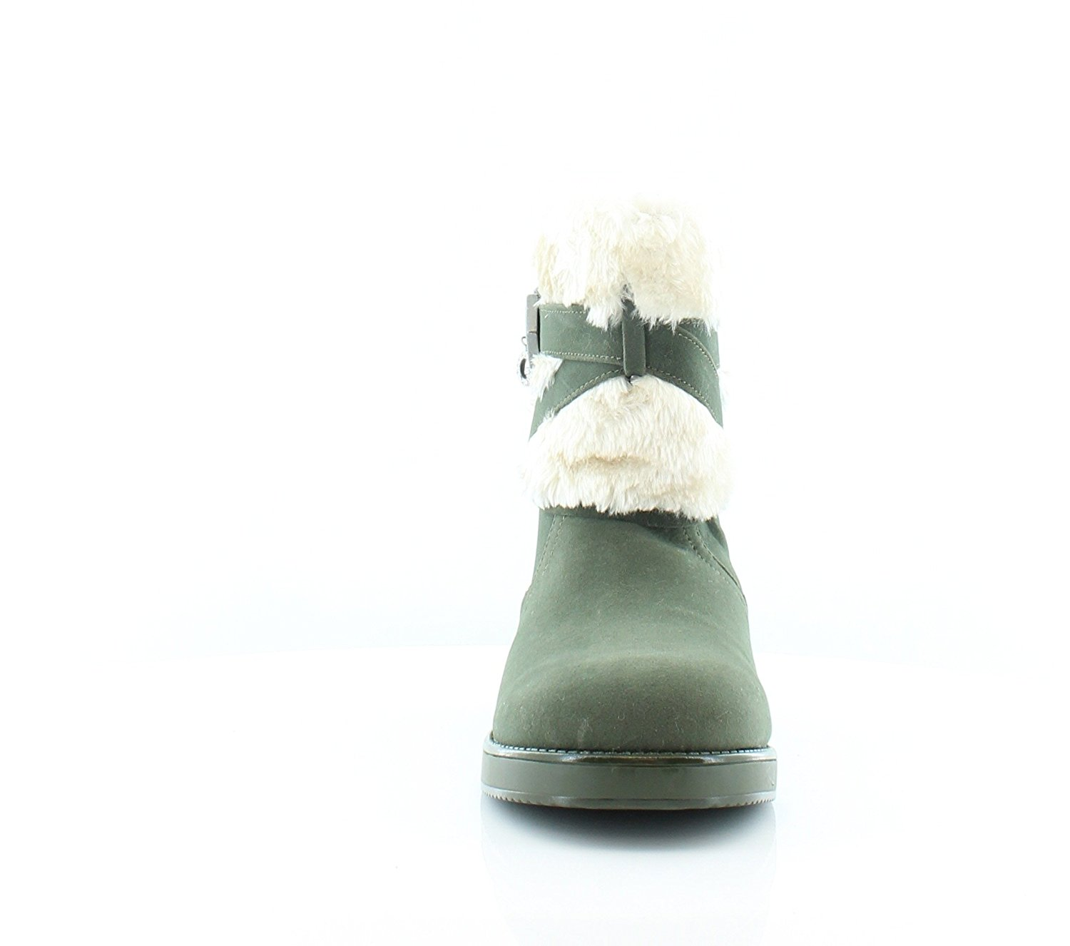 G by Guess Womens alixa Closed Toe Ankle Cold Weather Boots, Green, Size 6.0