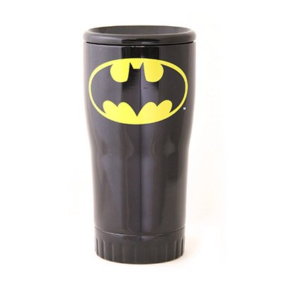 20oz Batman Ss Tumbler, Silver Buffalo, BN112195 - Batman Cup