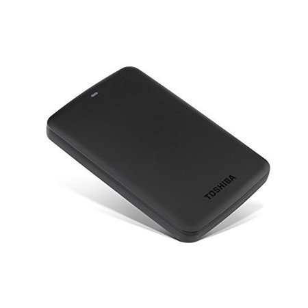 Toshiba 1TB Canvio Basics 3.0 Portable Hard Drive, HDTB310XK3AA Black