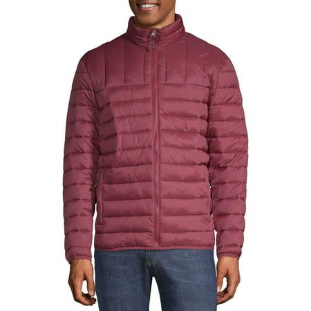 SwissTech Men's and Big Men's Puffer Jacket, up to Size 5XL Woodland Camouflage Ranger Vest