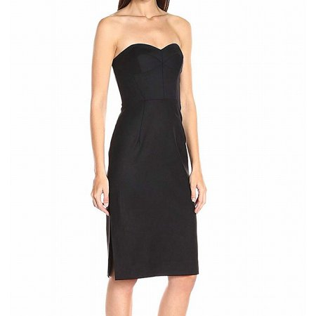 Milly Deep Womens Gabardine Alix Solid Sheath Dress