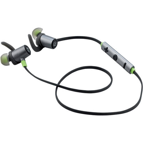 iHome Water-Resistant Bluetooth Sport Clip Earbuds with Microphone