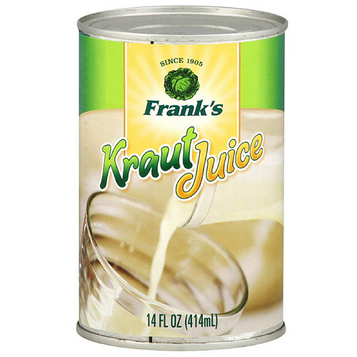 Frank's Kraut Juice, 14 Fl Oz, 12 Count