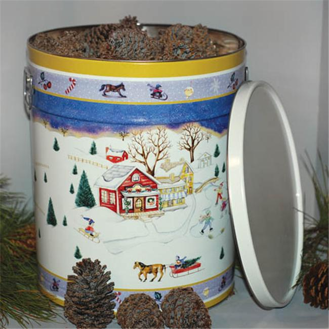 Goods Of The Woods 10115 Color Cones Currier and Ives Green Tin