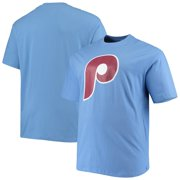 Philadelphia Phillies Big & Tall Cooperstown Collection Large Logo T-Shirt - Light Blue