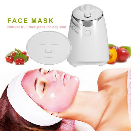 HERCHR Vegetable Mask Machine Fruit Mask Machine Facial Care DIY Natural Fruit Vegetable Mask Maker Fresh Collagen Making Machine US Plug