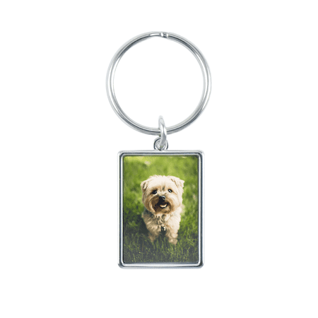 Classic Photo Keychain, Vertical