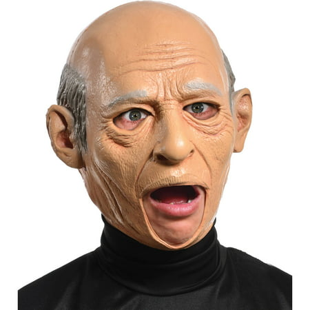 Halloween Old Mask (Old Man Latex Mask Adult Halloween)