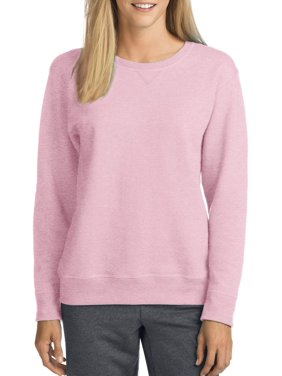 917abdfc7 Product Image Hanes Women's Fleece V-Notch Sweatshirt