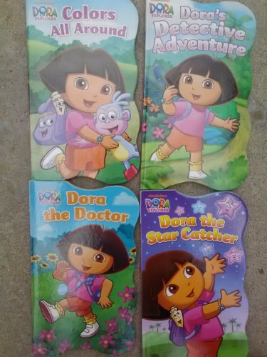 Dora the Explorer Educational Shaped Board Book (Assorted, Designs Vary) by Bendon Publishing