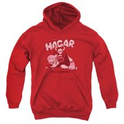 Hagar The Horrible Hagar Gulp Big Boys Pullover Hoodie