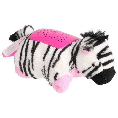 Dream Lites Mini - Zippity Zebra, Projects a starry sky, anywhere! By Pillow Pets,USA ()