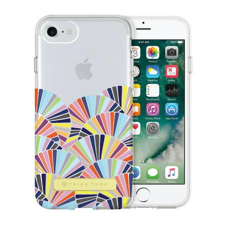 new concept dd07c 775e4 Trina Turk Translucent Case (1-PC) for iPhone 8, iPhone 7 & iPhone 6/6S -  Copellia Multi/Clear