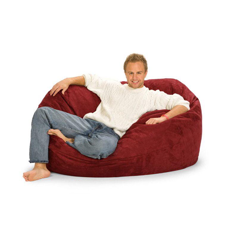 Relax Sack 5 ft. Microsuede Foam Bean Bag Lounger