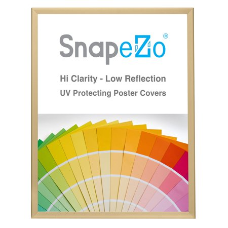 - poster frame 24x30 inches, gold snapezo 1.25