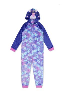 Wonder Nation Girls Exclusive Super Soft Fleece Blanket Sleeper Pajama Sizes 4-18 & Plus