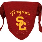 DoggieNation 716298011986 Small USC Trojans Dog Bandana