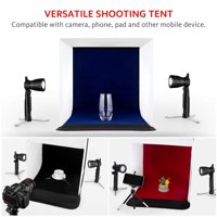 "Kshioe Photo Studio 24"" Photography Lighting Tent Kit Backdrop Cube In A Box Mini Stand"