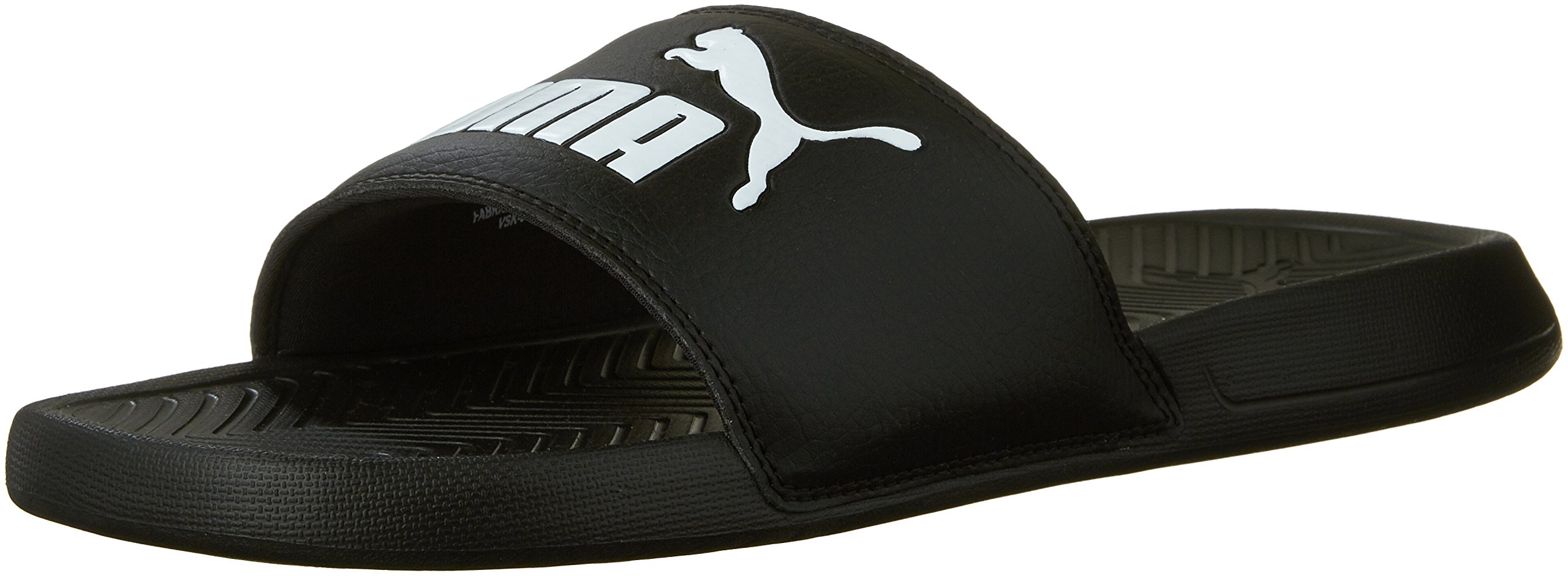 Puma 360265-10: Men's Popcat Slide Sandal Black (11 D(M) US) by
