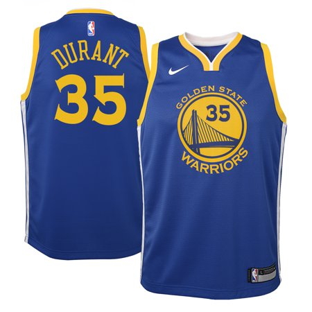 Kevin Durant Golden State Warriors Nike Youth Swingman Jersey Royal - Icon Edition
