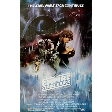 Star Wars- The Empire Strikes Back Movies Poster Print, 27x40 Poster Print, 27x40, High Quality Poster Print By Lucasfilm,USA