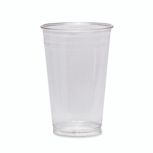 Dixie Foods Cold Drink Cups, 16 oz., Clear Plastic