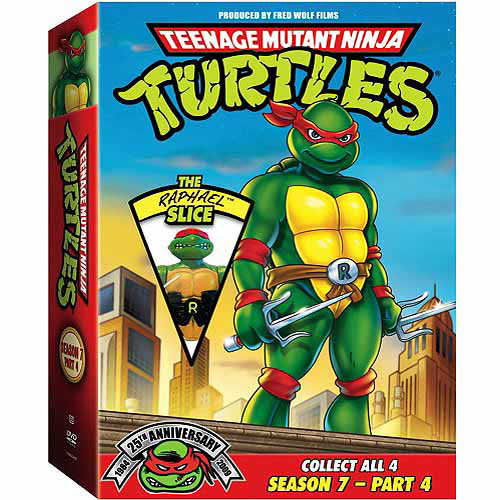 Teenage Mutant Ninja Turtles: Season 7 Pt. 4-Rapha [DVD]