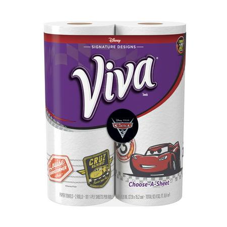 Viva Signature Designs Paper Towels  Choose A Sheet  Cars Print  2 Big Rolls