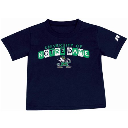 Notre Dame Irish (Toddler Russell Athletic Navy Notre Dame Fighting Irish Block Letter)