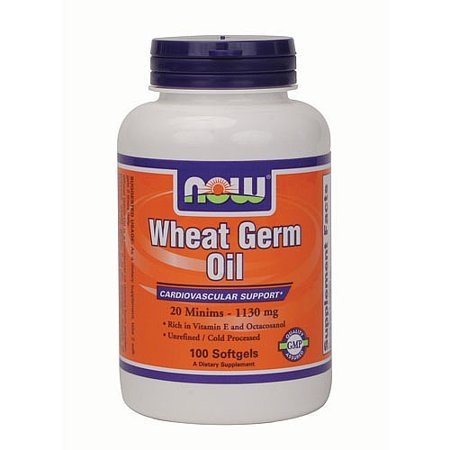 NOW Wheat Germ Oil 100 Softgels