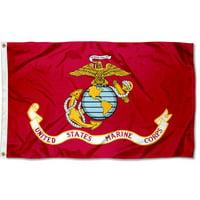 US Marines Corps Seal 3' x 5' Pole Flag