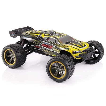 Rc Car  Fmt Remote Control Truck High Speed Off Road 30 Mph 1 12 Scale Full Proportional 2 4Ghz 2Wd  Color  Yellow