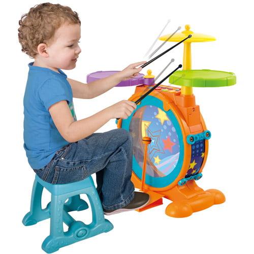 Little Virtuoso Slammin Jammin Drum Set by Generic