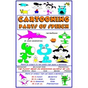 Cartooning Parts of Speech - eBook