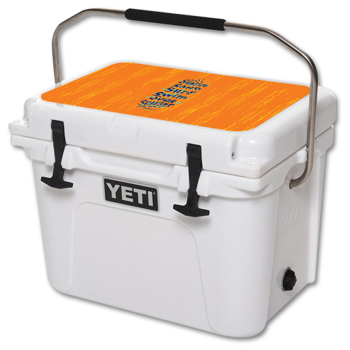 Skin For YETI Roadie 20 qt Cooler Lid – Beach Recipe | MightySkins Protective, Durable, and Unique Vinyl Decal wrap cover | Easy To Apply, Remove, and Change Styles | Made in the USA